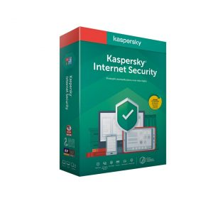Software Kaspersky Internet Security 2020 MD 5 User 1 Ano BOX