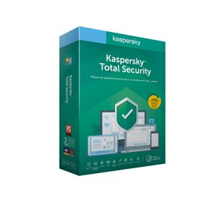 Software Kaspersky Total Security 2020 3 User 1 Ano BOX