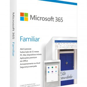 Microsoft 365 Family Portuguese EuroZone Subscr 1YR Medialess P6
