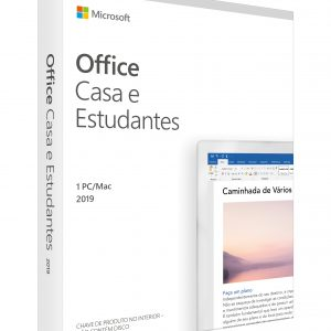 Office Home and Student 2019 Portuguese EuroZone Medialess P6