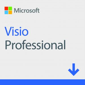 ESD Microsoft Visio Professional 2019 Win All Lng Online Product Key