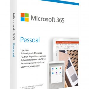 Microsoft 365 Personal Portuguese EuroZone Subscr 1YR Medialess P6