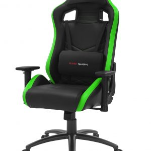 Cadeira MARS GAMING MGCX NEO PREMIUM GAMING CHAIR, AIR, SOFT CUSHIONS, 2D, STEEL, GREEN