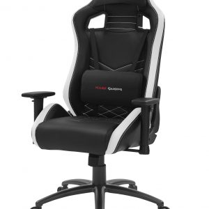 Cadeira MARS GAMING MGCX NEO PREMIUM GAMING CHAIR, AIR, SOFT CUSHIONS, 2D, STEEL, WHITE
