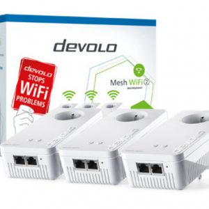 Devolo Mesh WiFi 2 Multiroom Kit-1200 WiFi ac: 3 adapt.Wi-Fi – PT8764