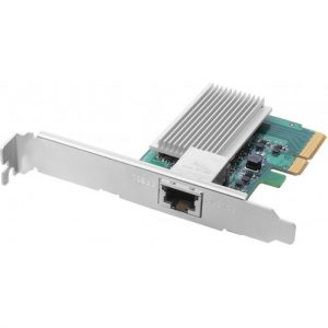 Placa de rede ASUSTOR 10GBase-T(RJ45) PCI-E, 2 brackets -1 x long e 1 x short – AS-T10G